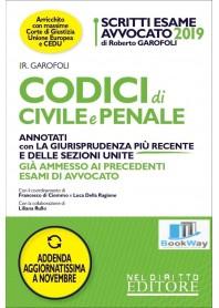 codici di civile e penale 2019