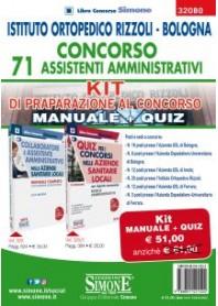 Concorso 71 Assistenti Amministrativi Istituto Ortopedico Rizzoli Bologna Kit