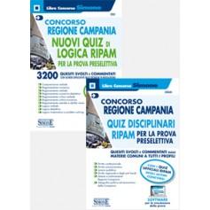 Concorso Regione Campania Quiz RIPAM per la Prova Preselettiva Kit