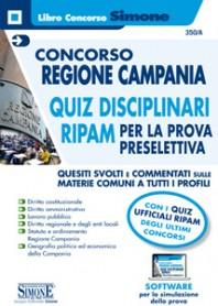 Concorso Regione Campania Quiz Disciplinari RIPAM per la Prova Preselettiva