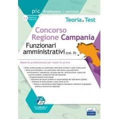 Concorso Regione Campania 380 Funzionari Amministrativi Materie Professionali per Tutte le Prove