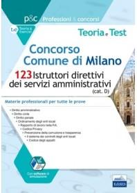 Concorso Comune di Milano 123 Istruttori Direttivi dei Servizi Amministrativi