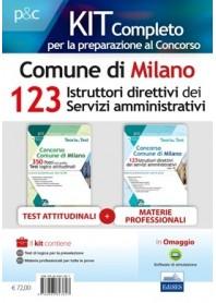 Concorso 123 Istruttori Direttivi Servizi Amministrativi Comune di Milano Kit