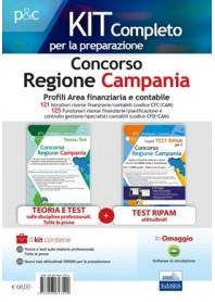 Concorso Regione Campania 121 Istruttori Contabili e 125 Funzionari Risorse Finanziarie/Contabili Kit