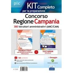 Concorso Regione Campania 380 Istruttori Amministrativi Kit