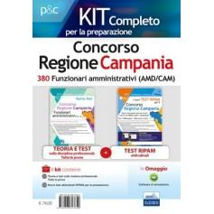 Concorso Regione Campania 380 Funzionari Amministrativi Kit