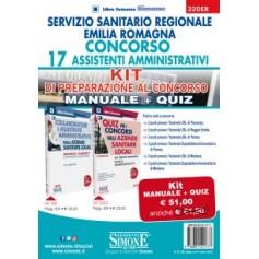 Concorso 17 Assistenti Amministrativi Servizio Sanitario Regione Emilia Romagna Kit