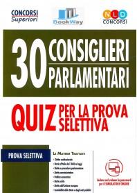 30 consiglieri parlamentari concorso