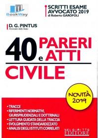 40 pareri e atti di civile