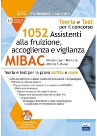 Concorso MIBAC 1052 Assistenti alla Fruizione, Accoglienza e Vigilanza Prova Scritta e Orale