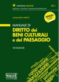 Manuale di Diritto dei Beni Culturali e del Paesaggio di Ferretti