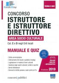 concorso istruttore e istruttore direttivo