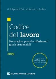 Codice del Lavoro di Bulgarini D' Elci, Furfaro, Sartori