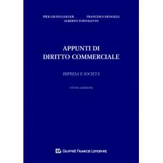 Appunti di Diritto Commerciale di Denozza, Jaeger, Toffoletto