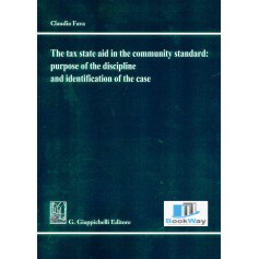 the tax state aid in the community standard: purpose of the discipline and identification of the case