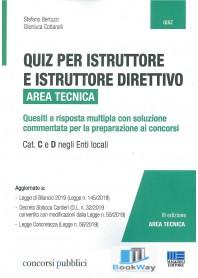 quiz per istruttore e istruttore direttivo. area tecnica