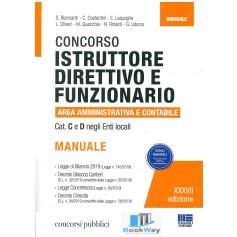 concorso istruttore direttivo e funzionario