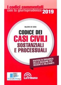 codice dei casi civili sostanziali e processuali 2019