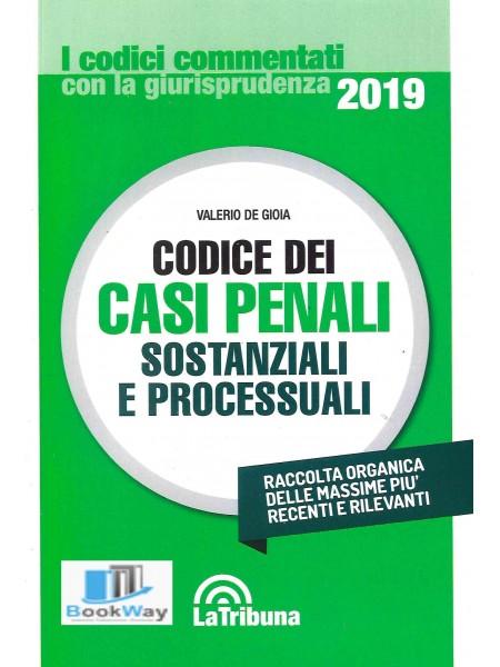codice dei casi penali sostanziali e processuali 2019