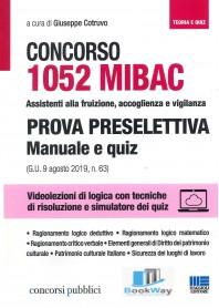1052 mibac concorso