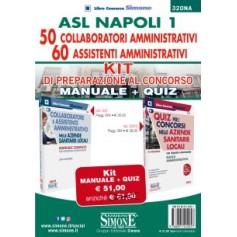 ASL Napoli 50 Collaboratori Amministrativi 60 Assistenti Amministrativi Kit
