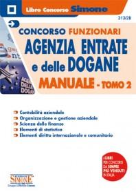 Concorsi Funzionari Agenzia delle Entrate e delle Dogane Manuale TOMO 2