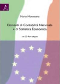 Elementi di Contabilità Nazionale e di Statistica Economica di Monastero
