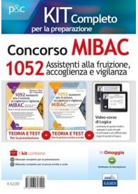 Concorso MIBAC 1052 Assistenti alla Fruizione, Accoglienza e Vigilanza Kit