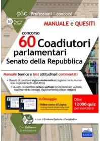 Concorso 60 Coadiutori Parlamentari al Senato della Repubblica di Barbuto, Iodice