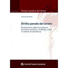 Diritto Penale del Lavoro di Marrone