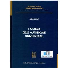 sistema delle autonomie universitarie (il)
