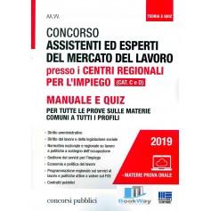 concorso assistenti ed esperti del mercato del lavoro presso i centri regionali per l'impiego cat. c e d