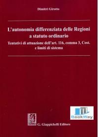 autonomia differenziata delle regioni a statuto ordinario