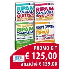 kit ripam concorso regione campania - 5000 quiz + come risolvere i quiz + manuale prova preselettiva  + quiz prova preselettiva