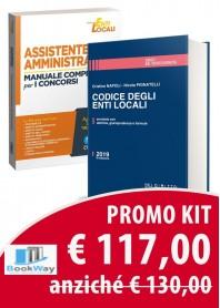 kit enti locali 1 - codice degli enti locali : assistente amministrativo + manuale completo per i concorsi