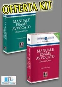 kit manuale esame avvocato 2019