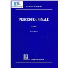 procedura penale vol. 1