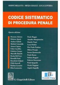 codice sistematico di procedura penale