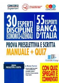 30 esperti discipline economico-aziendali - 55 esperti banca d'italia