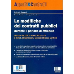 modifiche dei contratti pubblici alla luce del d.m. 7 marzo