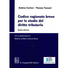codice ragionato breve per lo studio del diritto tributario