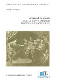 iustitia et fides - studi di diritto canonico processuale e matrimoniale