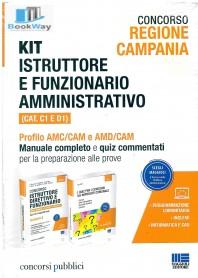 kit istruttore e funzionario amministrativo (cat. c1 e d1) -regione campania