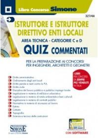 Istruttore e Istruttore Direttivo Enti Locali Area Tecnica Categorie C e D Quiz