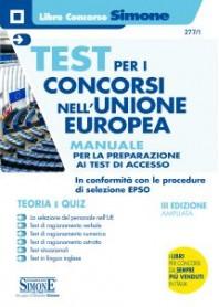 Test per i Concorsi nell'Unione Europea Manuale