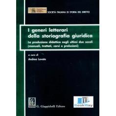 generi letterari della storiografia giuridica