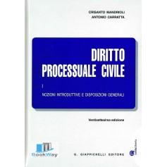 diritto processuale civile i .