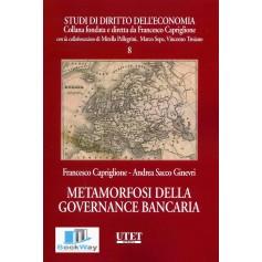 metamorfosi della governance bancaria