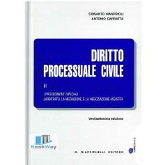 diritto processuale civile iii