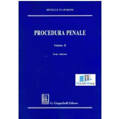 procedura penale. volume ii